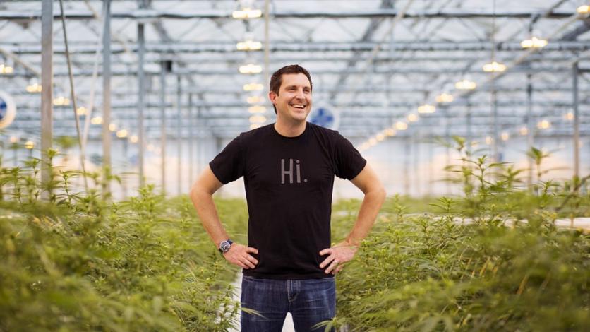Mark Zekulin, the president of Canopy Growth